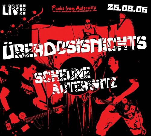 Überdosisnichts - Live - Scheune Auterwitz - CD