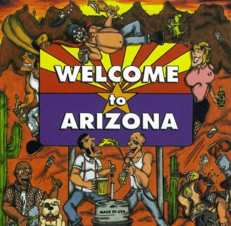 Fatskins/Last Laugh - Welcome to Arizona, CD