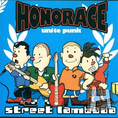 Honorace - Street Lambada, CD