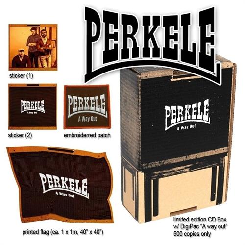 Perkele - A way out, CD-Box