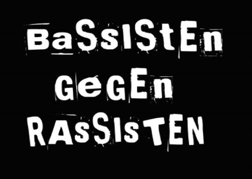 Bassisten gegen Rassisten - Spuckies