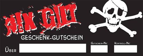 Nix Gut Geschenkgutschein PDF