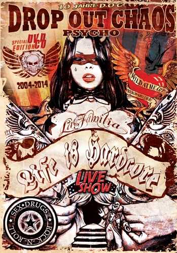 Drop Out Chaos - 10 Jahre/Live in Berlin, DVD/CD