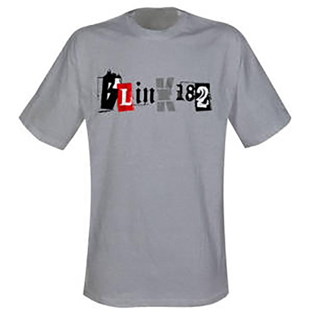 51c3ad3b608c57 Blink 182 - Schriftzug Kinder-Shirt - Nix-Gut Mailorder
