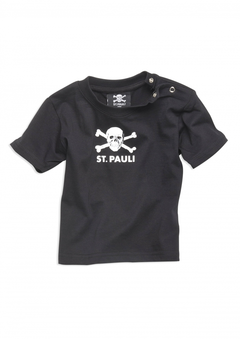 st pauli totenkopf baby shirt nix gut mailorder. Black Bedroom Furniture Sets. Home Design Ideas