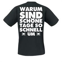 Zaunpfahl - Warum sind ..., T-Shirt