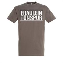 Fräulein Tonspur - Graues Shirt, T-Shirt