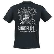 Sündflut - Steuerrad, T-Shirt