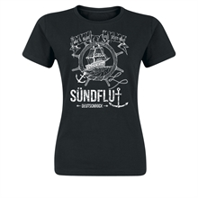Sündflut - Steuerrad, Girl-Shirt