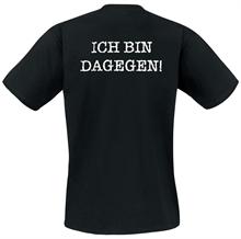 Ich bin dagegen - T-Shirt