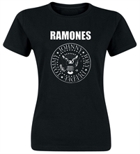 Ramones - Logo, Girl-Shirt