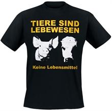 Tiere sind Lebewesen - T-Shirt