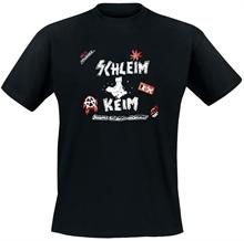 Schleimkeim - Schwarz Rot Gold, T-Shirt