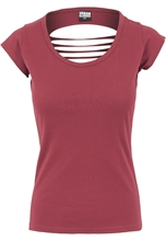 Urban Classics - cutted Back Tee, Girl-Shirt