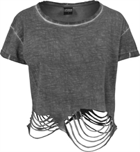 Urban Classics - Ladies Cutted Cropped Tee, Girl-Shirt