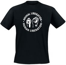 Animal Liberation - Pfote Faust, T-Shirt