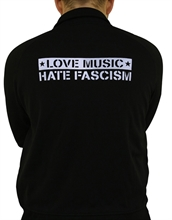 Love Music - Hate Fascism, Trainingsjacke