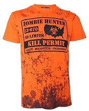 Darkside - Zombie Hunter, T-Shirt