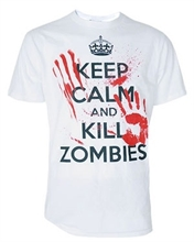 Darkside - Keep Calm Kill A Zombie T-Shirt