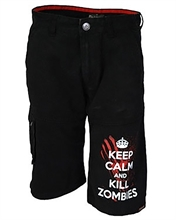 Darkside - Keep Calm Kill Zombies, Shorts