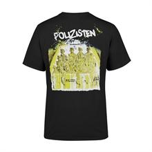 Piratenpapst/Zaunpfahl - Polizisten, T-Shirt