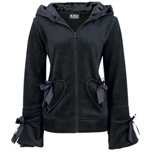 Poizen Industries - Alice Hood, Fleece-Jacke