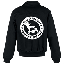 Good Night White Pride - Harringtonstyle Jacke gef�ttert