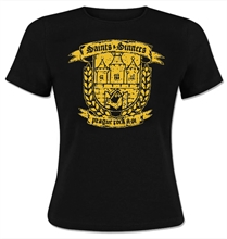 Saints & Sinners - Wappen, Girl-Shirt