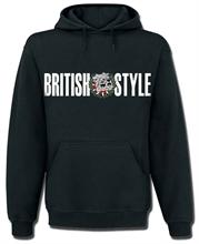 British Style - Logo, Kapuzenpullover