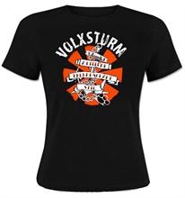 Volxsturm - Attitüde-Freundschaft-Stil, Girl-Shirt