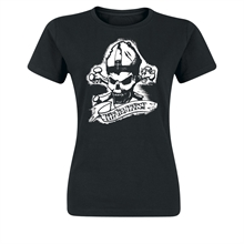 Piratenpapst - Skull, Girl-Shirt