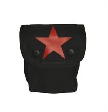 Roter Stern - Para Koppeltasche