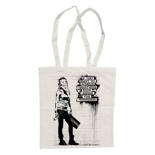 Banksy - Stop Asking Permission, Baumwolltasche