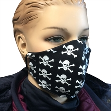 Gesichtsmaske - Totenkopf