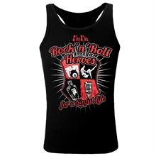 Rock n Roll Heroes - For A Sinful Life, Tanktop