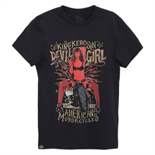 King Kerosin - Devil Girl 666, T-Shirt