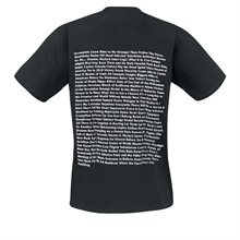 Bad Religion - Song List, T-Shirt