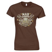 Mad Caddies - Day Of The Dead, Girl-Shirt