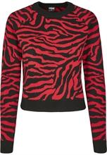 Urban Classics - Ladies Short Tiger Sweater