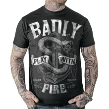 Badly - Play With Fire, T-Shirt