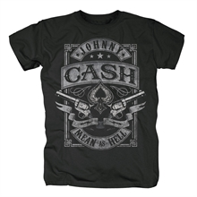 Johnny Cash - Mean As Hell, T-Shirt