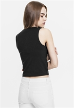 Urban Classics - Ladies Lace Up Cropped Top