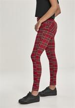 Urban Classics - Ladies Skinny Tartan, Hose
