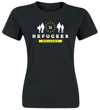 Refugees Welcome - Girl-Shirt
