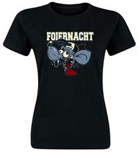 Foiernacht - Ratte, Girl-Shirt