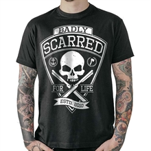 Badly - Scarred For Life, T-Shirt