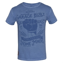 King Kerosin - Hand Made,T-Shirt blau