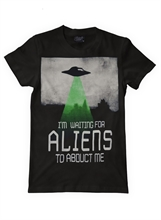 Darkside - Alien Abduction, T-Shirt
