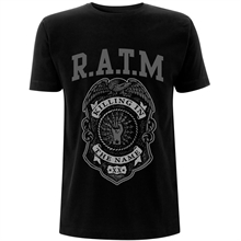 Rage against the machine - Police Badge, T-Shirt