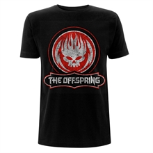 Offspring, The - Distressed Skull, T-Shirt
